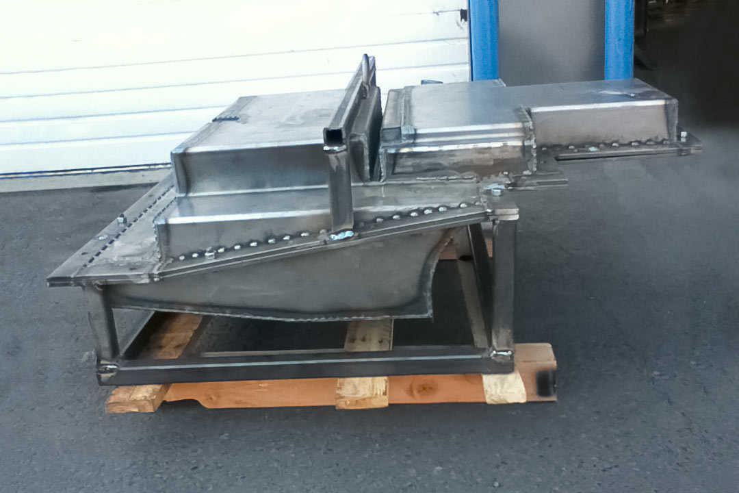 Fabricated mold for Fuel Tanks