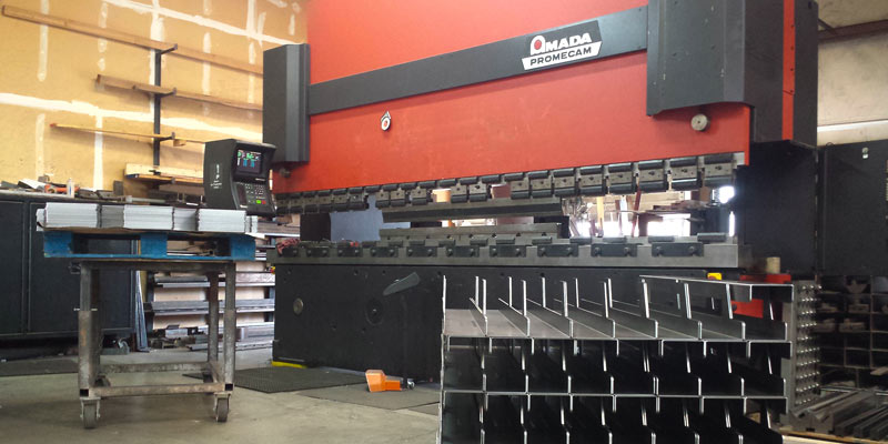 Amada Promenade Press for metal forming